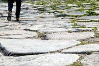 Clean terras granieten aanrecht goed