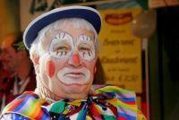 Make-up tips voor het gezicht van een clown's - het is triest