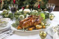 Gevulde eend voor Kerstmis - een verfijnde recept