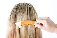 Door strengen volledig hair