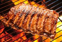Zonder gif in barbecue - indirect grillen