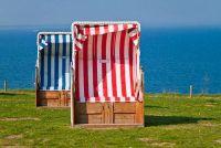 Het repareren van een strandstoel - aanraken defecte punten in het frame