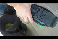Boots - te identificeren met een grootte grafiek op basis van de enige lengte schoenmaat