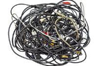 Wat te doen met een gebroken kabel?  Verwijderingsmethoden
