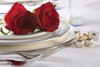 Creatieve decoreren ideeën voor een bruiloft in de winter