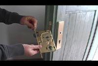 Vervang deurslot - hoe het werkt