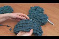 Strickanleitung voor Pompon wol - twee methoden