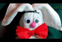 Make handdoek-Hare zelf
