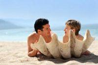 Nudist baden - zodat je je gedraagt op naakt strand recht