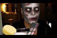 Make-up voor Halloween - Aanwijzingen voor Zombie
