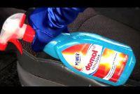 Verwijder een vetvlek op autostoelen - hoe het werkt
