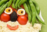 Decoratie suggesties om te dineren met kinderen - eenvoudige ideeën