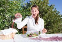 Slaagt zoals het schoonmaken - vetvlekken op blouses