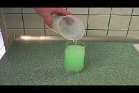 Maak bruisende poeder zelf - hoe het is prickelig-blubberig