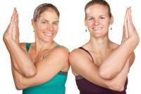 Stretching voor twee - Voorbeelden uit de Yoga