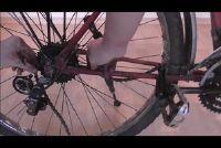 Verkort een fietsketting en de juiste spanning - hoe het werkt