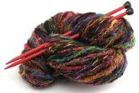 Wol breien een sjaal