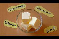 Cream boter en zure room boter - het verschil uitgelegd gewoon