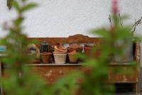 Een plant tafel geïntegreerd in de tuin - advies