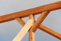 Build patio dak gemaakt van hout zelf