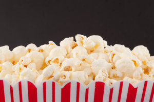 Popcorn maakt vet?