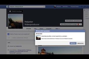 Bewerken Facebook Miniatuur - dus het werkt