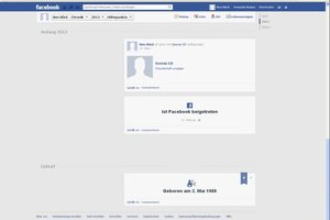 Facebook verbergen de geboorte - zo succesvol aanpassing