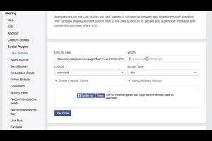 Installeer Facebook-knop op de homepage - hoe het werkt