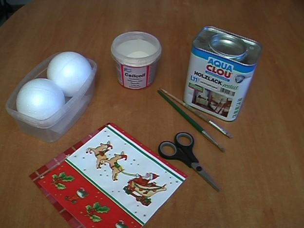 Ongebruikelijke kerstballen knutselen hoe het werkt - Ausgefallene weihnachtskugeln ...