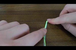 Maak vriendschap armbanden zelf - dus slagen eenvoudige patronen