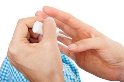 Nail verharder - dus gebruik het met zachte nagels