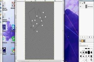 Het creëren van een Vector in GIMP - dus het zal werken