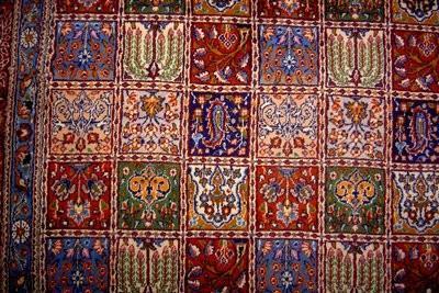 Clean oosterse tapijten zelf - dus het zal werken