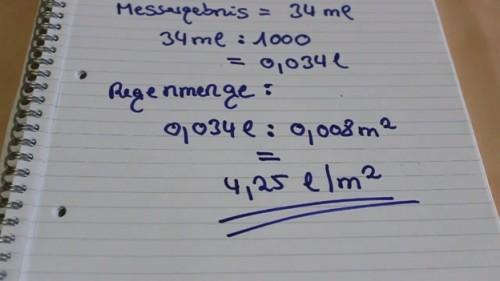 Bereken regenval hier is hoe for Trap berekenen formule