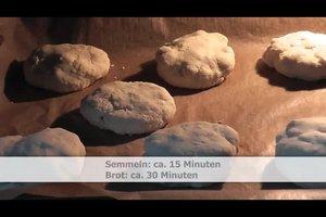 Met quinoa bakken zonder gluten - Recept voor rollen