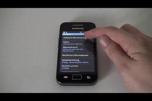 Update software op de Samsung Galaxy Ace - dus het zal werken