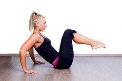 Eenvoudige Sport oefeningen voor het verliezen van gewicht - dus je verminderen met zachte work-outs van uw gewicht