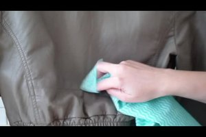 Wassen leren jas - leer dus dingen zijn weer schoon