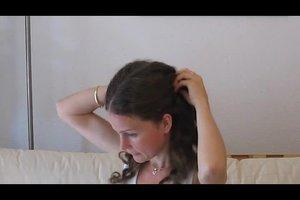 Kapsels voor krullend haar - zodat u uw manen te temmen in het kantoor