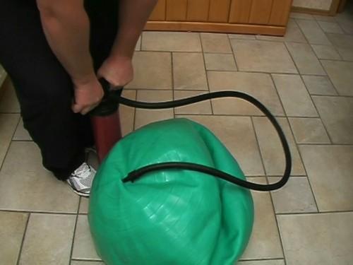 Oefening Ball Inflate - dus het zal werken