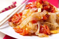 Low-calorie noedels - twee recepten voor gebakken shirataki