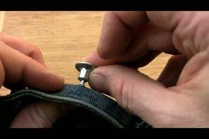 Fit jeans knop