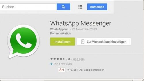 Gebruik WhatsApp voor Android - hoe het werkt
