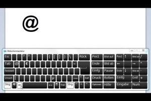 """Hoe maak je een """"aan"""" op het toetsenbord?"""