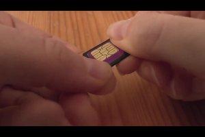 Gebruik Micro-SIM in de normale mobiele telefoon - dus we gaan met Adapter
