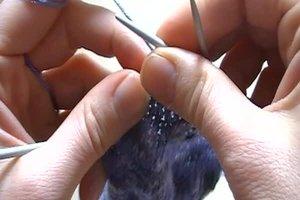 Rij hiel - Aanwijzingen voor het breien
