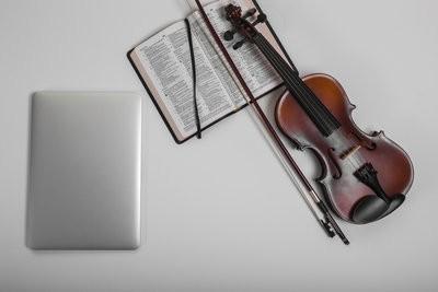 De iPad gebruik als een lessenaar - dus het zal werken