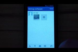 Foto's uploaden op Facebook - hoe het werkt via de mobiele telefoon