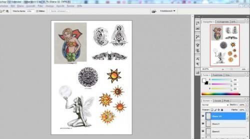 Adhesive tatoeages selbermachen - hoe het werkt