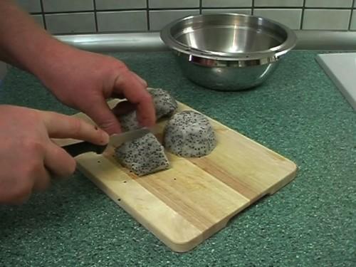 Hoe maak je een Pitahaya eten?  - Dat is hoe het heeft gedaan